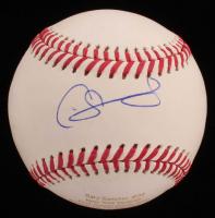 Gary Sanchez Signed LE OML Career Stat Engraved Baseball (JSA COA) at PristineAuction.com