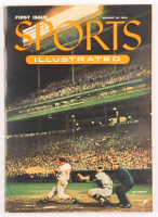 Original First Issue Sports Illustrated Magazine from August 16, 1954 at PristineAuction.com