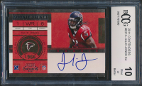 Julio Jones 2011 Playoff Contenders #221A AU RC (BCCG 10) at PristineAuction.com
