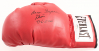 "Aaron ""Superman"" Davis Signed Everlast Boxing Glove Inscribed ""49-6-31 KOs"" (Schwartz COA) at PristineAuction.com"