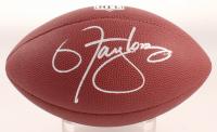 Lawrence Taylor Signed NFL Logo Football (Schwartz COA) at PristineAuction.com