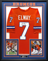 John Elway Signed 34.5x42.5 Custom Framed Jersey (JSA COA) at PristineAuction.com