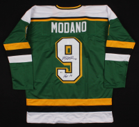 "Mike Modano Signed Jersey Inscribed ""HOF 14"" (Beckett COA) at PristineAuction.com"