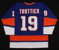 "Bryan Trottier Signed Jersey Inscribed ""HOF 97"" (JSA COA) at PristineAuction.com"
