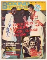 "Joe Frazier Signed 1977 ""Boxing Illustrated"" Magazine Cover (PSA COA) at PristineAuction.com"
