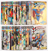 """Lot of (49) 1987-2007 """"Adventures Of  Superman"""" DC Comic Books at PristineAuction.com"""