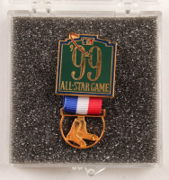 Original 1999 Red Sox All-Star Game Press Pin at PristineAuction.com