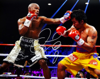 Floyd Mayweather Jr. Signed 16x20 Photo (Schwartz Sports COA) at PristineAuction.com