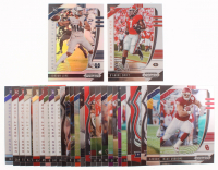 Lot of (30) 2020 Panini Prizm Draft Picks Football Cards with #148 Jordan Love RC, #120 D'Andre Swift RC at PristineAuction.com