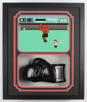 Mike Tyson Signed 22.25x26.25x5 Custom Framed Shadowbox Display (Fiterman Sports Hologram) at PristineAuction.com