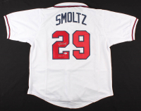 "John Smoltz Signed Jersey Inscribed ""HOF 15"" (Beckett COA) at PristineAuction.com"