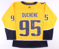 Matt Duchene Signed Predators Jersey (Beckett COA) at PristineAuction.com