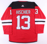 Nico Hischier Signed Devils Jersey (Beckett COA) at PristineAuction.com