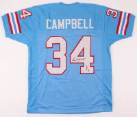 """Earl Campbell Signed Jersey Inscribed """"HOF 91"""" (PSA COA) at PristineAuction.com"""