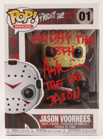 "Ari Lehman Signed ""Friday the 13th"" - Jason Voorhees #01 Funko Pop! Vinyl Figure Inscribed ""Friday the 13th"" & ""The OG Jason"" (PA COA) at PristineAuction.com"