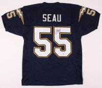 Junior Seau Signed Jersey (PSA COA) at PristineAuction.com