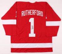 Jim Rutherford Signed Jersey (JSA COA) at PristineAuction.com
