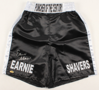 Earnie Shavers Signed Boxing Trunks (MAB Hologram) at PristineAuction.com