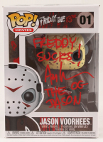 "Ari Lehman Signed ""Friday the 13th"" - Jason Voorhees #01 Funko Pop! Vinyl Figure Inscribed ""Freddy Sucks!"" & ""The OG Jason"" (PA COA) at PristineAuction.com"