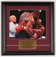 Mike Tyson Signed 13.5x13.5 Custom Framed Photo Display (JSA COA) at PristineAuction.com