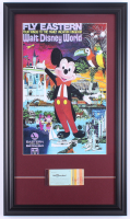Disney World 15.5x26.5 Custom Framed Print Display with 1960's  Ticket Book at PristineAuction.com