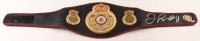 Floyd Mayweather Jr. Signed WBA Championship Boxing Belt (Beckett COA) at PristineAuction.com