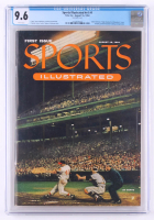 Original First Issue Sports Illustrated Magazine from August 16, 1954 (CGC 9.6) at PristineAuction.com
