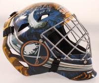 "Dominik Hasek Signed Sabres Full-Size Goalie Helmet Inscribed ""HOF 14"" (Schwartz COA) at PristineAuction.com"