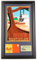 "Disneyland Frontierland ""Mark Twain Steamboat"" 15.26.5 Custom Framed Print Display with Vintage 1960's Steamboat Picture Pamphlet & Vintage Ticket at PristineAuction.com"
