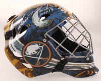 "Dominik Hasek Signed Sabres Full-Size Goalie Helmet Inscribed ""HOF 14"" (Schwartz COA) at PristineAuction.com"