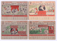 Lot of (252) 1956 Topps Baseball Cards with #135 Mickey Mantle (PSA 1), #30 Jackie Robinson, #33 Roberto Clemente, #31 Hank Aaron at PristineAuction.com