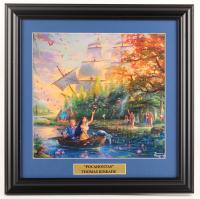 "Thomas Kinkade Walt Disney's ""Pocahontas"" 16.5x16.5 Custom Framed Print Display at PristineAuction.com"