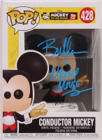 "Bret Iwan Signed ""Mickey The True Original"" #428 Conductor Mickey Funko Pop! Vinyl Figure Inscribed ""Mickey Mouse"" (Legends COA) at PristineAuction.com"