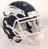 John Elway Signed Broncos Full-Size AMP Alternate Speed Helmet (Schwartz COA) at PristineAuction.com