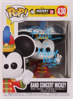 """Bret Iwan Signed """"Mickey The True Original"""" #430 Band Concert Mickey Funko Pop! Vinyl Figure Inscribed """"Mickey Mouse"""" (Legends COA) at PristineAuction.com"""