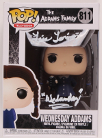 """Lisa Loring Signed """"The Addams Family"""" #811 Wednesday Addams Funko Pop! Vinyl Figure Inscribed """"Wednesday"""" (Beckett COA) at PristineAuction.com"""