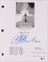 "Ralph Macchio Signed ""The Karate Kid"" Movie Script (Beckett COA) at PristineAuction.com"