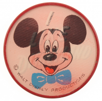 Vintage 1960's Vari-Vue Disneyland Souvenir Flicker Pin at PristineAuction.com
