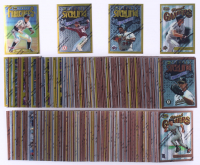 Complete Set of (359) 1996 Finest Baseball Cards with #18 Kirby Puckett, #198 Dennis Eckersley, #192 Chipper Jones, #25 Cal Ripken Jr. at PristineAuction.com