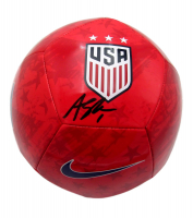 Alyssa Naeher Signed Team USA Logo Soccer Ball (JSA COA) at PristineAuction.com