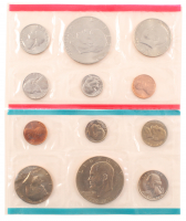 1976 United States Mint Proof Set with (12) Coins at PristineAuction.com