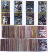 Complete Set of (359) 1996 Finest Baseball Cards with #105 Barry Bonds, #135 Ken Griffey Jr., #270 Randy Johnson, #25 Cal Ripken Jr., #6 Tony Gwynn at PristineAuction.com