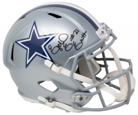 Ezekiel Elliott Signed Cowboys Full-Size Speed Helmet (Beckett COA) at PristineAuction.com