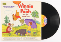 "Vintage 1965 Walt Disney's ""Winnie-the-Pooh and the Honey Tree"" Vinyl Record Album at PristineAuction.com"