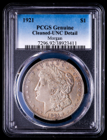 1921 Morgan Silver Dollar (PCGS UNC Details) at PristineAuction.com