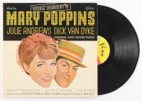 "Vintage 1964 Walt Disney ""Mary Poppins"" Original Cast Soundtrack Vinyl Record Album at PristineAuction.com"