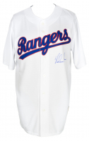 Nolan Ryan Signed Rangers Jersey (Beckett COA & Ryan Hologram) at PristineAuction.com