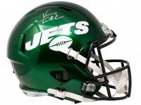 Vinny Testaverde Signed Jets Full-Size Speed Helmet (JSA COA) at PristineAuction.com