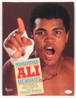 "Muhammad Ali Signed Rizzoli ""Muhammad Ali Memories"" Softcover Book (JSA LOA) at PristineAuction.com"
