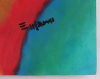 "Eder Manero Signed ""Life's Flower"" 24x32 Original Mixed Media On Masonite (PA LOA) at PristineAuction.com"
